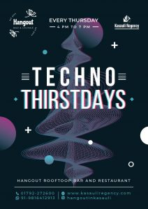 Workation in Kasauli comes with Techno Music on Thursdays, Himachal