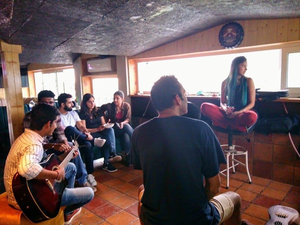 Kasauli Open Mic at Hangout Rooftop Bar Hotel in Kasauli