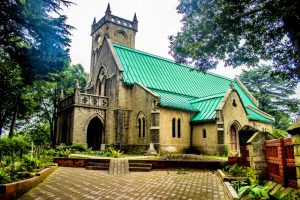 Christ Church 1880 is one of the places of interest in Kasauli
