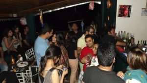Tasty Food in the best lounge and evening Parties in Kasauli
