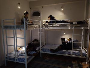 Bunk Bed pic Dormetary Room Hostel in Kasauli