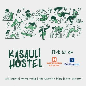 Book a hostel on booking.com and hostelworld