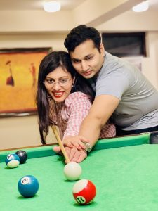 Pool Table Romantic Pic by a guest- Hotel Kasauli Regency
